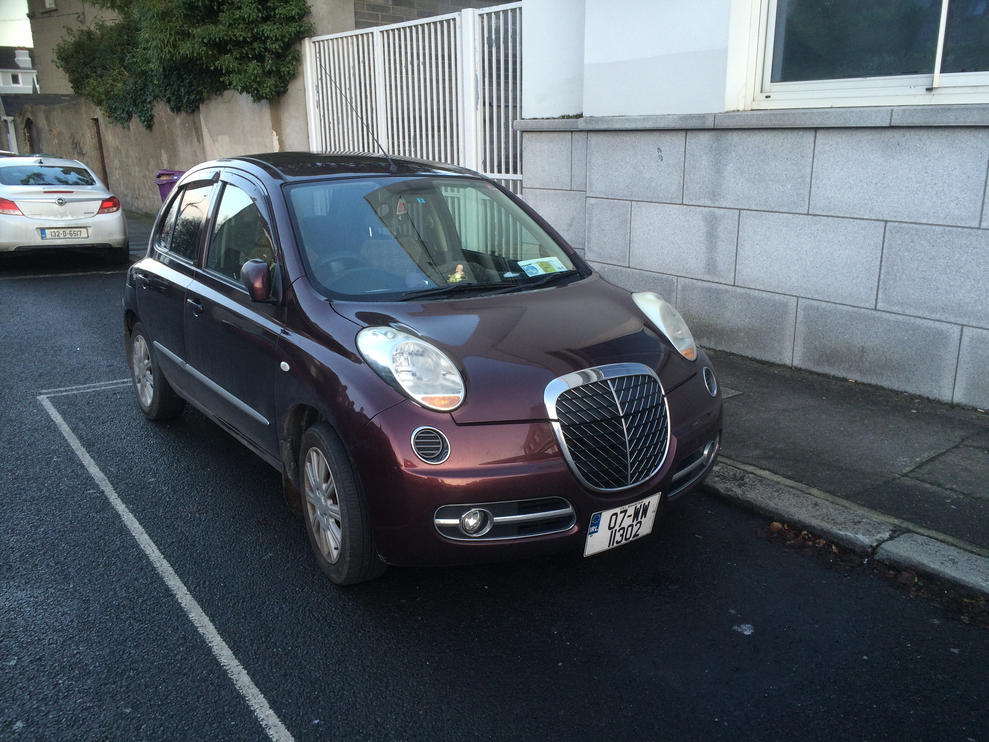 Most Of It Is A Nissan Micra But It Has A Different Grille And Bumper. The  Rear And Side Are Much The Same As The Micra. It Has A 1.2 Litre, ...