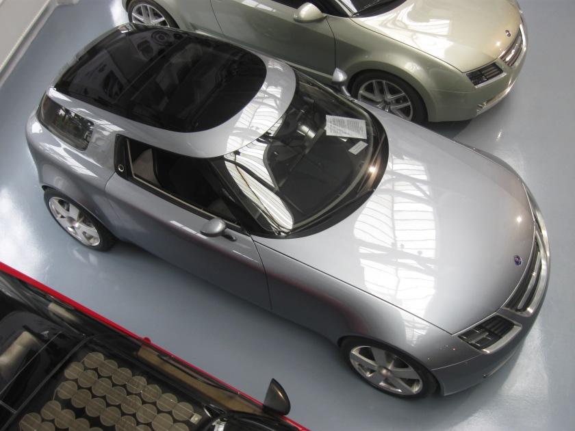 2001 Saab 9X concept: RH