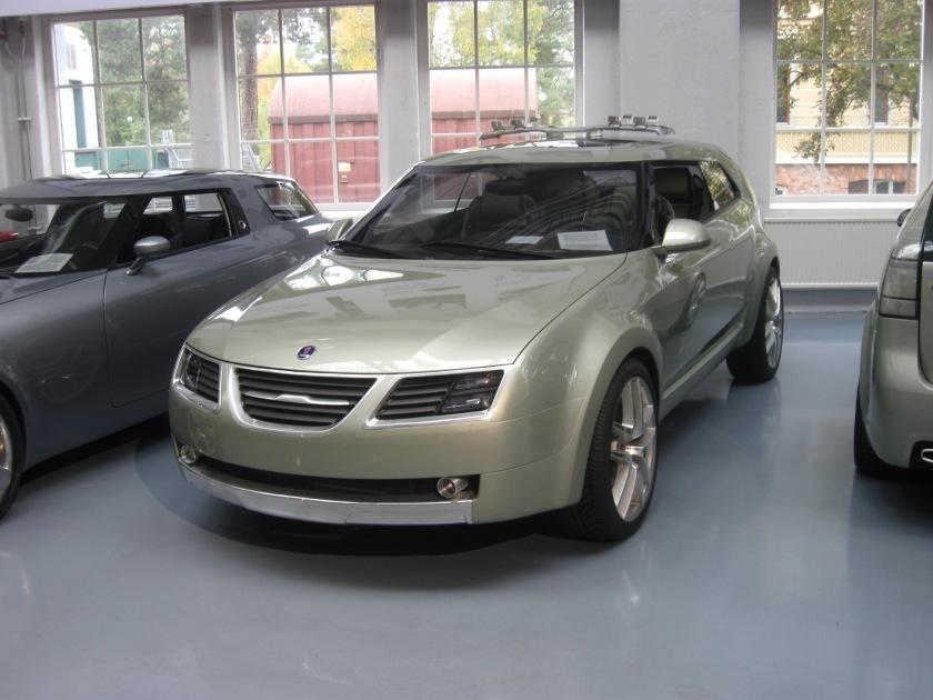 2004 Saab Sporthatch concept: RH