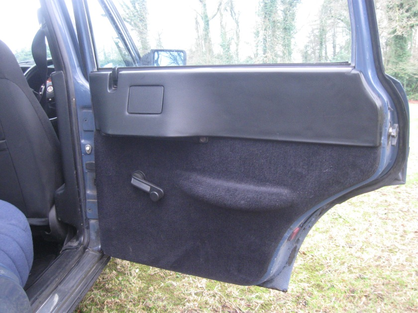 1981 Lancia Trevi rear door