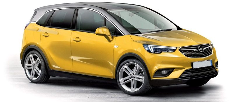 2017 Opel Crossland X: source