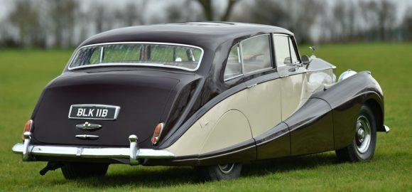 Freestone & Webb 'Razor Edge style seen on 1957 Rolls Royce Silver Wraith
