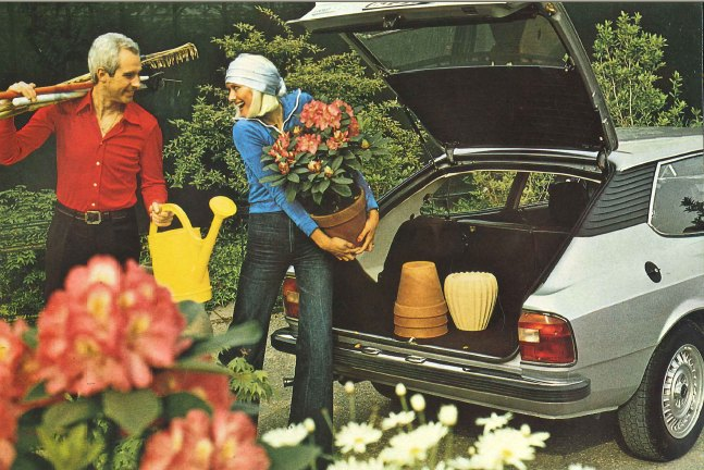 1975 Lancia HPE for gardeners