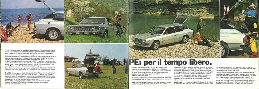 1975 Lancia HPE: driven by bird shooters.