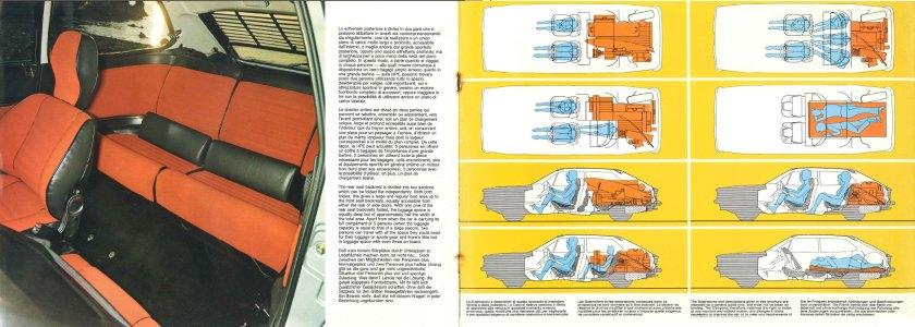 1975 Lancia HPE interior