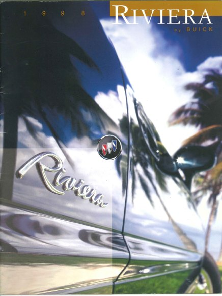 1995 Buick Riviera brochure front cover
