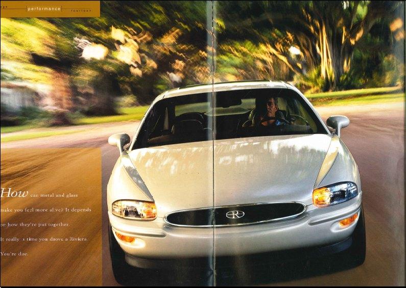 1995 Buick Riviera brochure