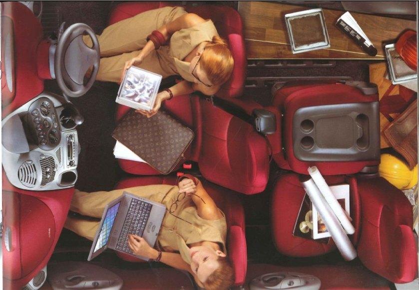 1998 Fiat Multipla interior