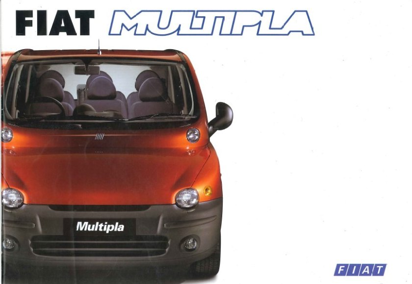 1998 Fiat Multipla brochure