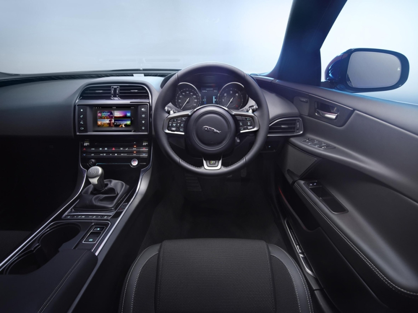 Unremittingly drab. XE interior. Image Sunday Times