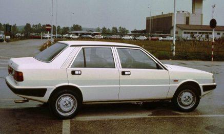 1983 Lancia Prisma. Image: Picautos