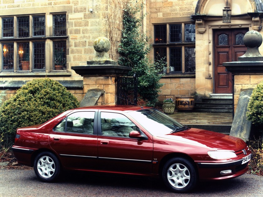 Our readers current champion, the very fine Peugeot 406. Image: Autoevolution