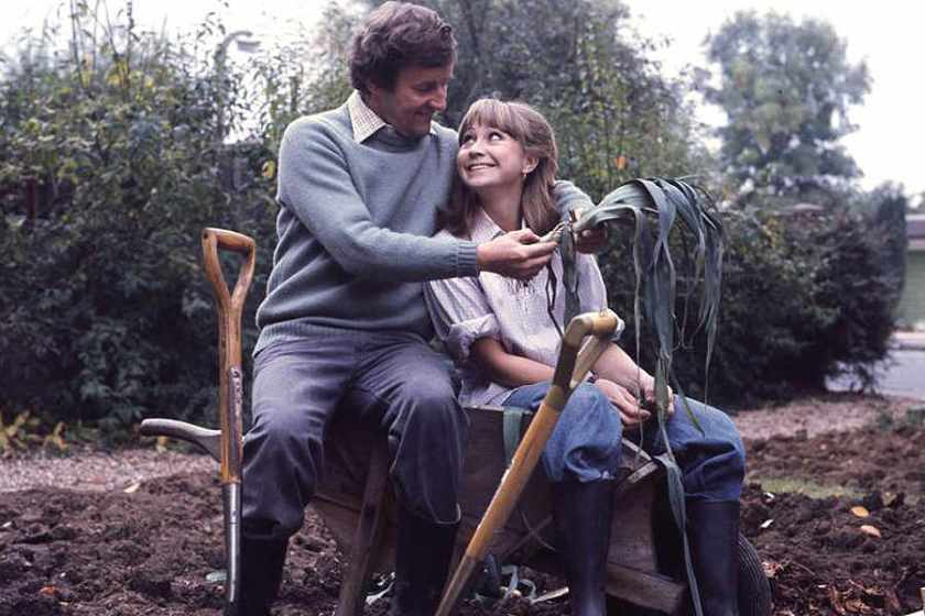 Felicity Kendal and Richard Briars from the Good Life TV sitcom. Image: expressandstar