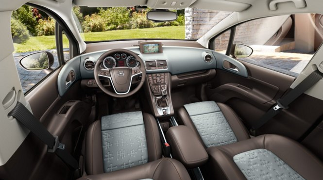 2016 Opel Meriva interior: source