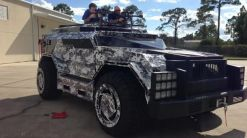 Parker Brothers Hummer Based Boss Hunting Truck
