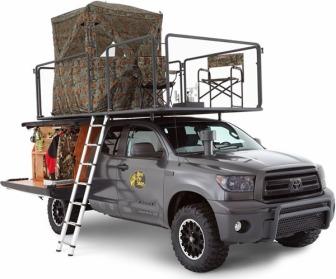 Toyota Hunting Truck - Image : guns.com