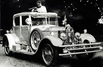 Maharajah of Baratphur's 20hp Rolls - Image : dailymail.co.uk