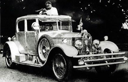 Maharajah of Baratphur's 20hp Rolls - Image : dailymail.co.uk