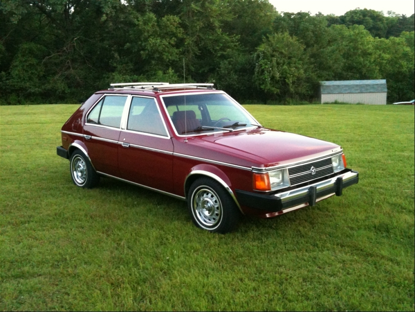 The Plymouth Horizon shows off its brightwork - Image : momentcar.com