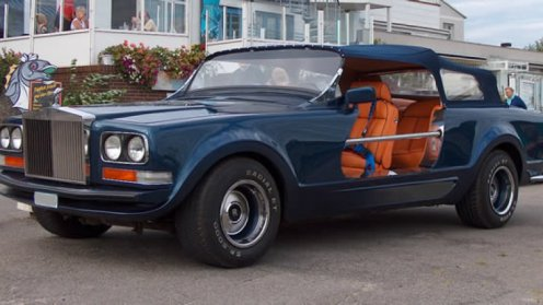 Rolls Camargue Falconry Vehicle - Image : autoblog.com