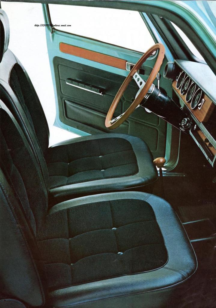 Simca 1100 Special Interior - Image : simcatalbotclub.proboards.com
