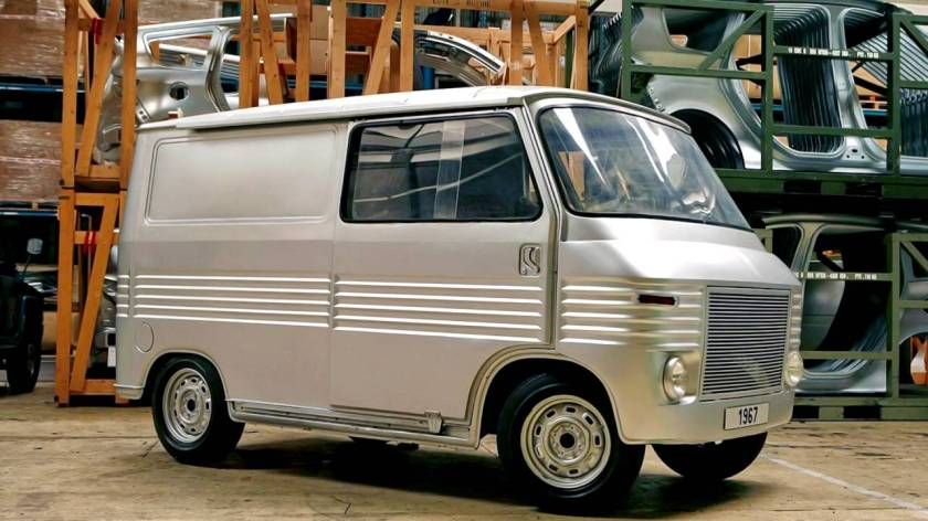 As a Postscript a rather nice Heuliez van that never got beyond prototype stage.