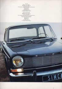 Image: Simca (Associe de Chrysler)