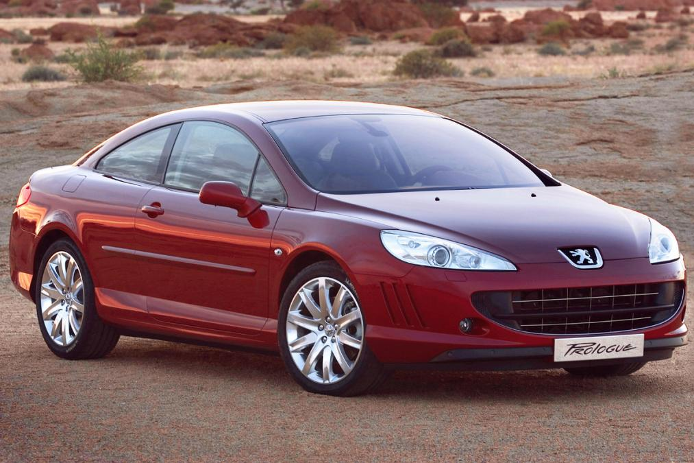 peugeot 407 coupe 2010 front quarter driven to write. Black Bedroom Furniture Sets. Home Design Ideas