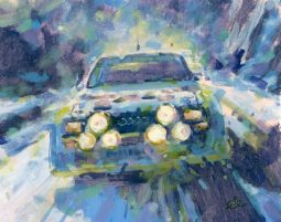 Audi Quattro Rally Car by Rob Ibjema
