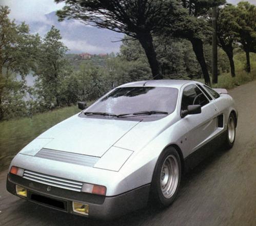 1981 AC Ghia concept. Image: carstyling.ru