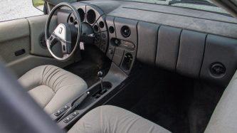 Quicksilver's interior was as striking as the exterior. Image: mecum