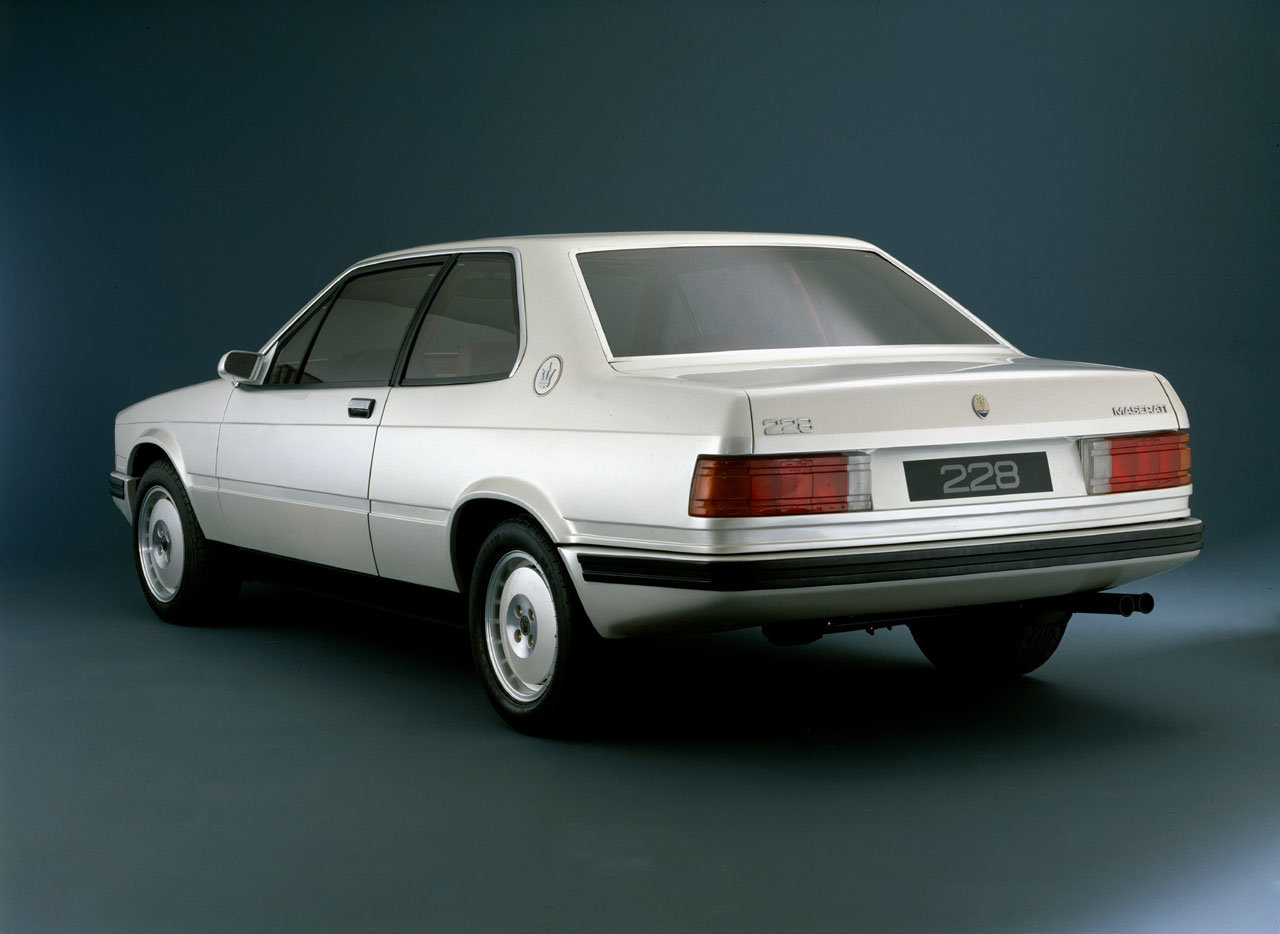Trident Inversion - 1987 Maserati 228 - Driven To Write
