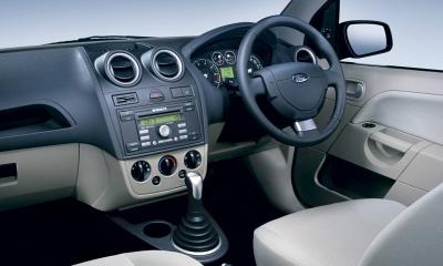2003 Ford Fiesta Interior