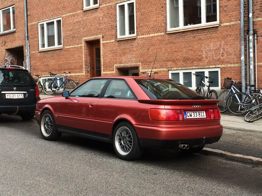 A Photo For Sunday 1988 Audi Coupe Driven To Write