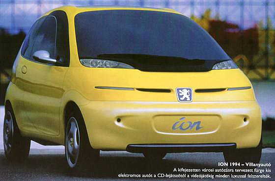 1994 Peugeot Ion concept. Image: vwvortex