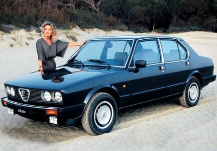 1983 Alfetta. (c) favcars