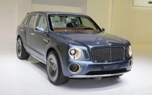 The Bentley EXP 9 F, a very unattractive car, photo (c) motortrend.com
