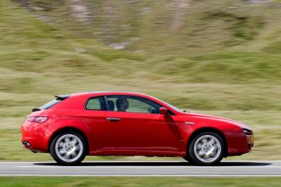 2005 Alfa Brera Coupe. Image: carbuyer
