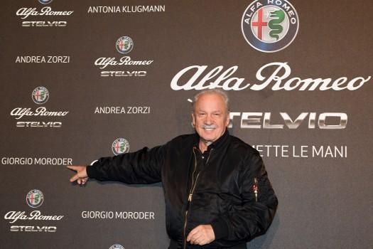 Alfa Romeo Stelvio e Giorgio Moroder