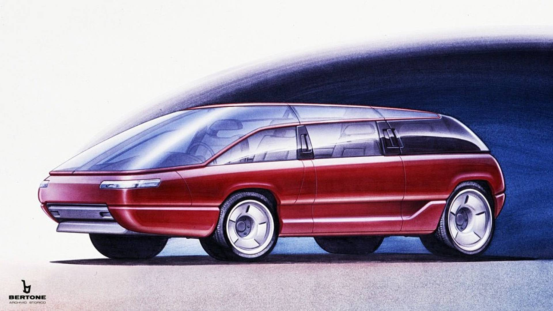 Lamborghini Genesis Monospace di Be...