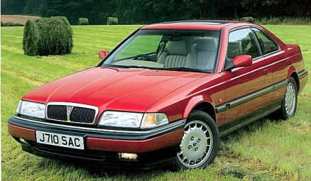 1992 Rover 800 coupe: aronline