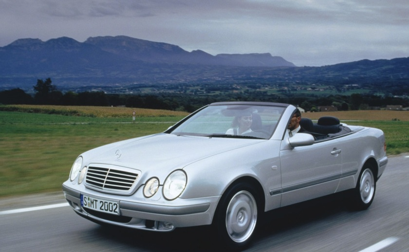 Re 1998 part 8 mercedes clk 320 convertible driven to for Mercedes benz clk 500