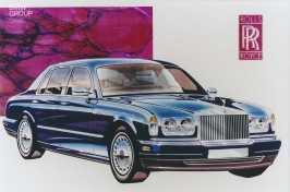 1998 Rolls Royce Silver Seraph rendering