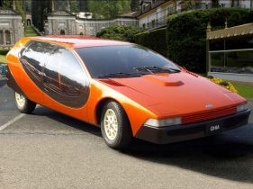 (c) old concept cars