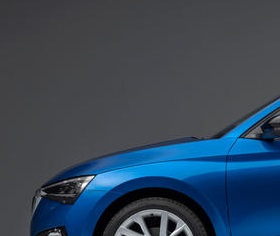 2019 Skoda Scala Side Blue Chop1 Driven To Write