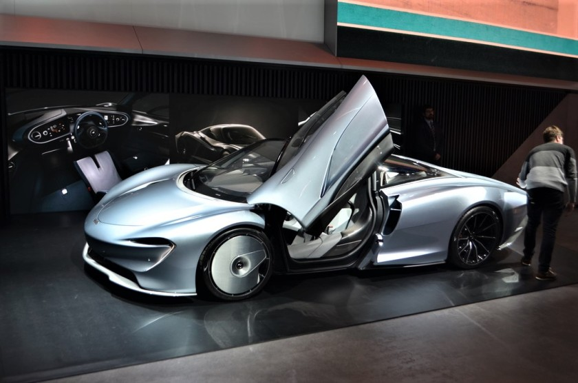 McLaren Speedtail.