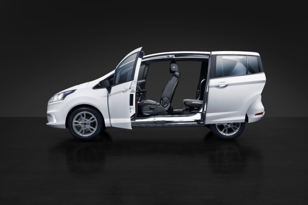 2015-Ford-B-Max-sliding-doors - TTAC