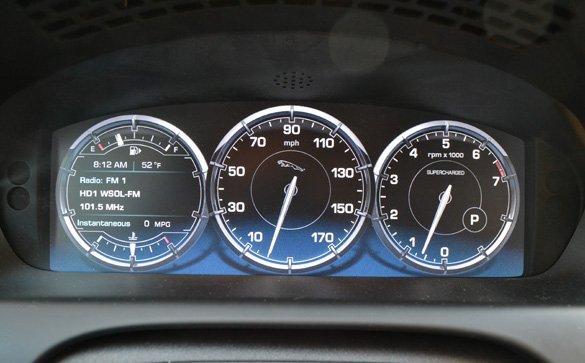 2011-jaguar-xj-lcd-cluster - automotive addicts