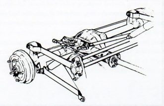 Javelin Rear Suspension. Image: G Palmer