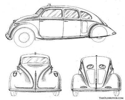 Briggs Dream Car 1933. Image: motorcities.org
